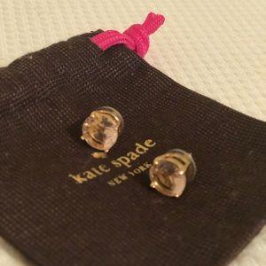 Kate Spade Light Pink Stud Earrings